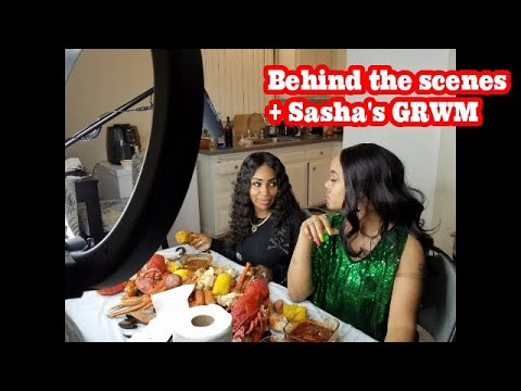 SEAFOOD BOIL WITH BLOVESLIFE (BEHIND THE SCENES!!)