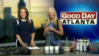 Healthy breakfast superfood smoothie with Tammy Stokes