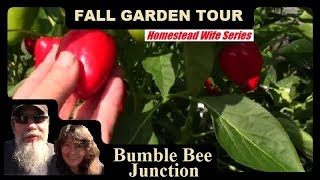 Homestead Wife - A Day In The Life | Fall Garden Tour