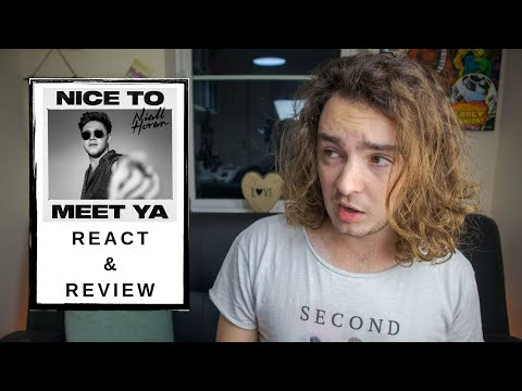 Musician Reacts To 'Nice To Meet Ya' - Niall Horan