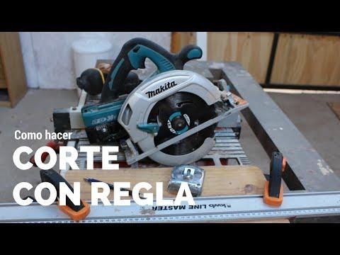 Como cortar con sierra circular