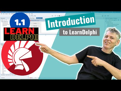 Delphi Programming Tutorial – Unit 1.1 Welcome To Delphi Programming