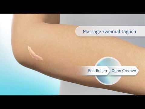 Produkt- und Anwendungsvideo Bepanthen® Narben-Gel