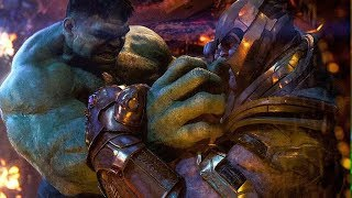 Why Thanos Beat The Hulk So Easily IN-DEPTH BREAKDOWN
