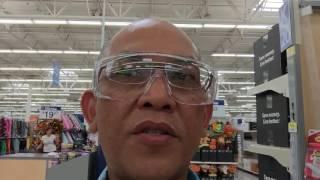 Over-Prescription Safety Glasses at Walmart for $2