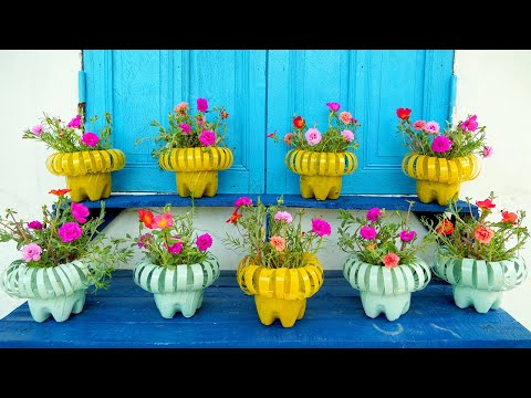 How to Turn Plastic Bottles Into DIY Planters