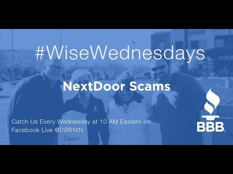 Wise Wednesdays: NextDoor Scams