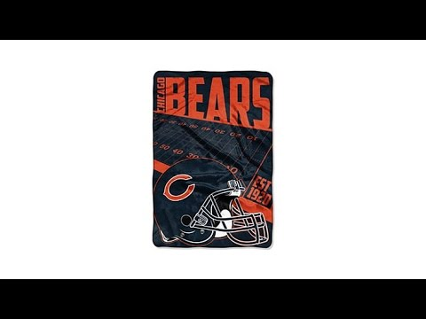 Officially Licensed NFL 62x90 Micro Raschel Throw