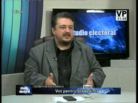 Emisiunea Studio electoral – Cezar Pârvulescu – 16 octombrie 2014