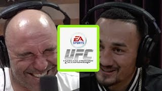 Max Holloway Learned Some Striking Techniques from the UFC Video Game