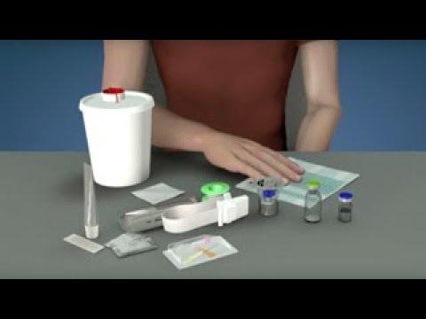 Intravenöse Injektion von humanem C1-INH-Konzentrat