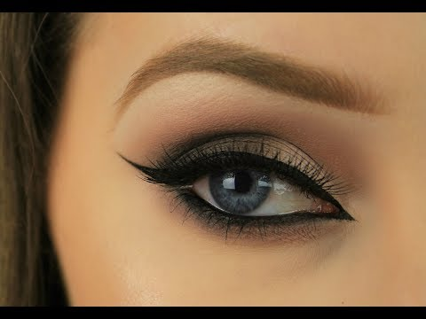 Cool Toned Mauve Cat Eye Look | Eimear McElheron