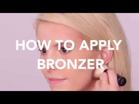 How to Apply Bronzer For a Warm Glow