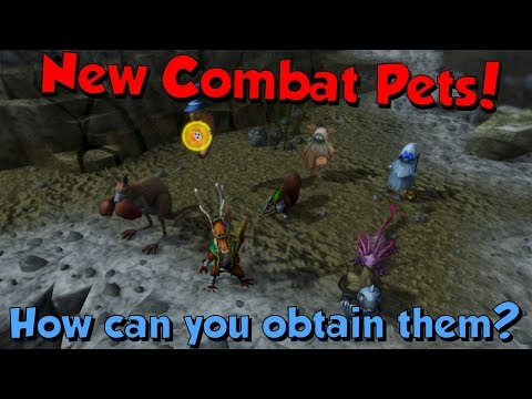 New Combat Pets! [Runescape 3] How to get them & What they look like!