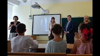 Пиар Порошенко перед детьми-инвалидами.