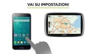 HOW TO USE TOMTOM TRAFFIC – SMARTPHONE CONNECTED SOLUTIONS  (ANDROID)_IT