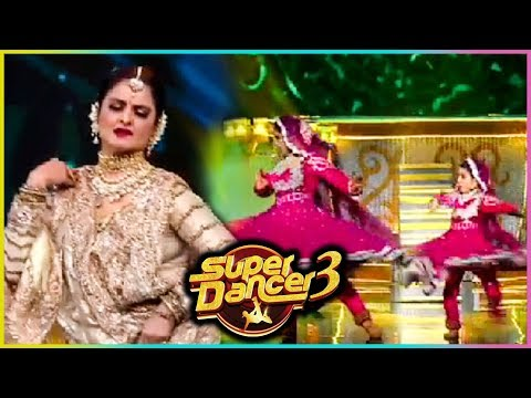 Rekha Gets EMOTIONAL On Dhairya's Performance | Super Dancer Chapter 3