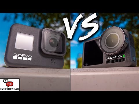 GoPro Hero 8 Black VS DJI Osmo Action! What's the BEST Action Camera?!