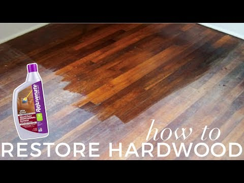 how to remove rejuvenate floor restorer