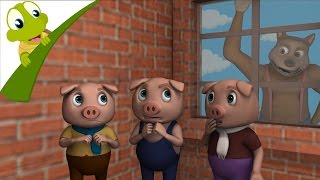 Three Little Pigs and the Big Bad Wolf 3D story and songs