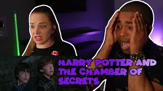 WATCHING Harry Potter And The Chamber Of Secrets For The VERY FIRST TIME ( Jane And JVs REACTION )