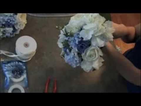 Πως να φτιάξετε οικονομική νυφική ανθοδέσμη με τεχνητά λουλούδια
