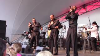 The Four Tops (LIVE)--I Got A Feeling--Fishers, Indiana 7-30-16