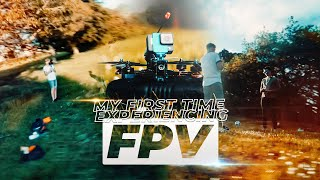 My First Time Experiencing FPV!