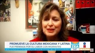 Reportaje sobre Gabriela Cortes - Imagen Noticias