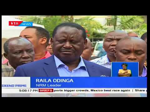 Raila Odinga paves the way for planned swearing in ceremony set for December 12th