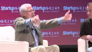 Steve Blank (Startup Owners Manual) and John Rampton (Forbes) at Startup Grind Global 2016
