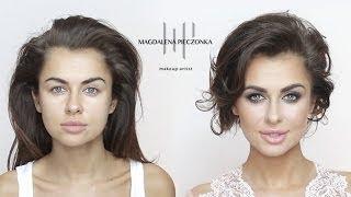 Makijaż na galę z Natalią Siwiec