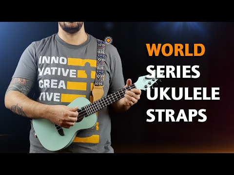 ORTEGA GUITARS | COTTON STRAPS FOR UKULELE (WORLD SERIES)