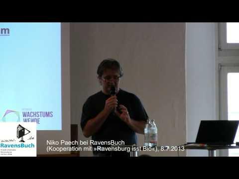 Nico Paech: »Befreiung vom Überfluss -- Wirtschaft ohne Wachstum«