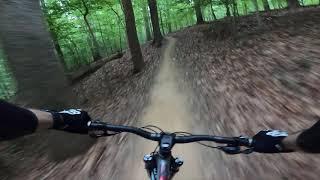 Beginner rider on Loop 1 Green.