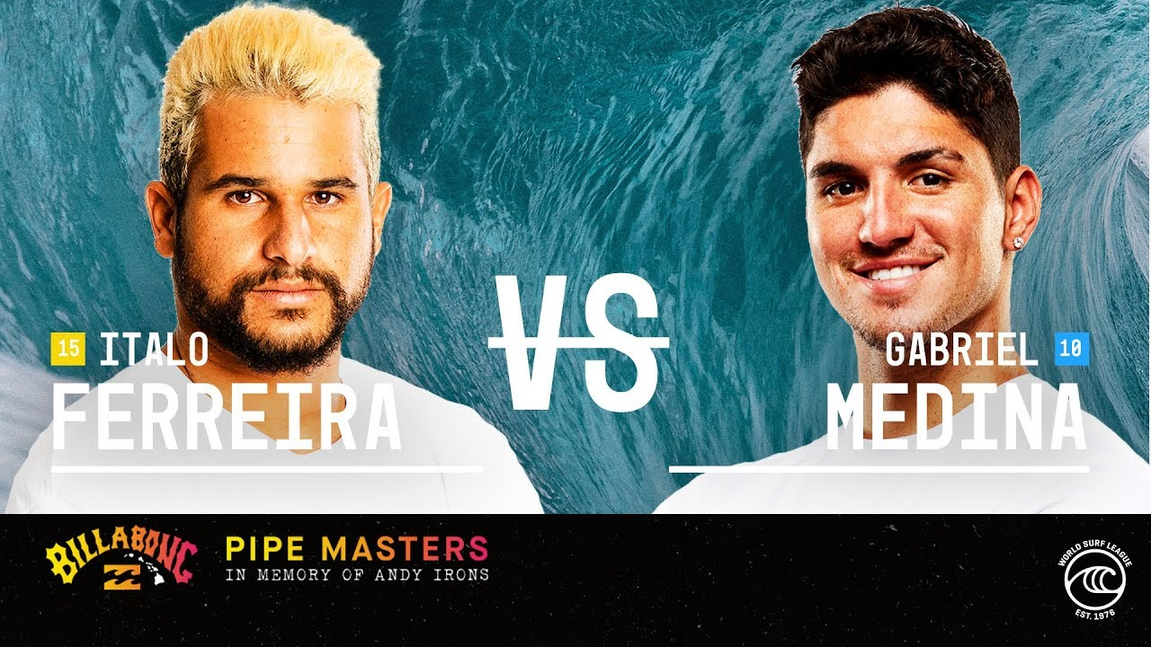 Italo Ferreira vs Gabriel Medina - FINAL - Billabong Pipe Masters 2019