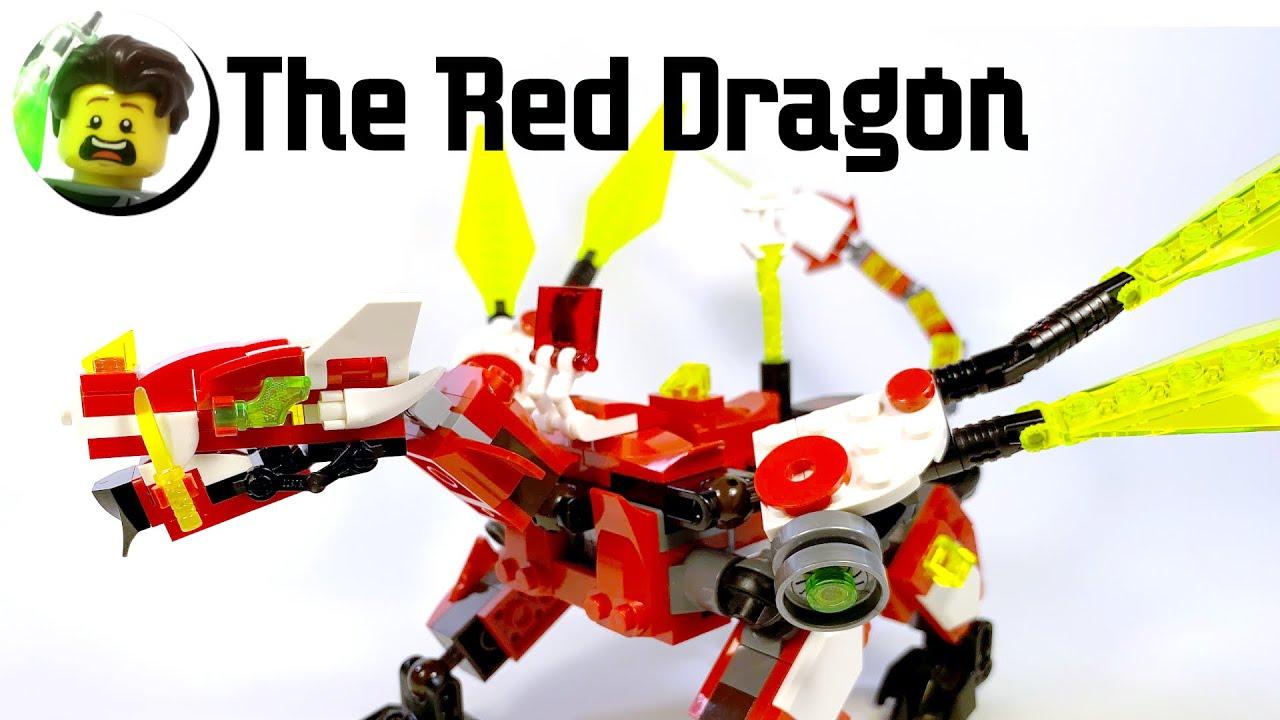 LEGO Red Dragon from Ninjago Prime Empire