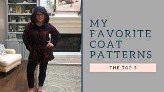 My Top 5 Coat Patterns