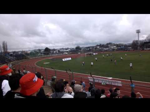 """Banda Azulgrana - Iberia vs Curico Unido"" Barra: Banda Azulgrana • Club: Deportes Iberia"