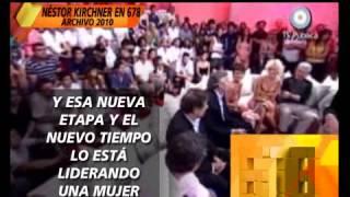 A 3 AÑOS DE LA MUERTE DE NESTOR KIRCHNER  231013