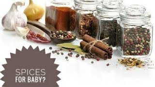 Spices for baby?? should we give spices to our little one??