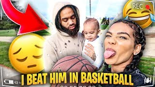 S.T.R.I.P BASKETBALL VS Baby Daddy **I CAN'T BELIEVE THIS HAPPENED**