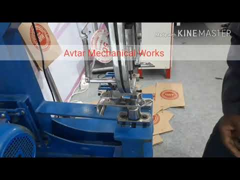 Handle Making Machine For Shopping Bags