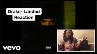 Drake - Landed (Audio) | Reaction