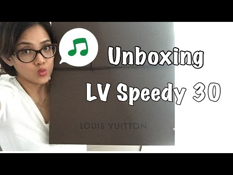 Unboxing Louis Vuitton Speedy 30 | Indonesia