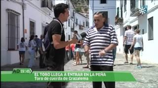 preview picture of video 'Andalucia Directo. Toro de cuerda Grazalema 2012.'