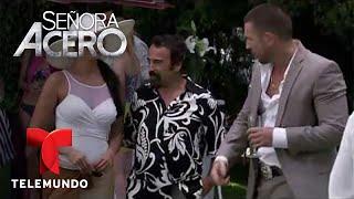 Señora Acero | Aurelio Casillas Frente A Frente Con La Señora Acero | Telemundo Novelas