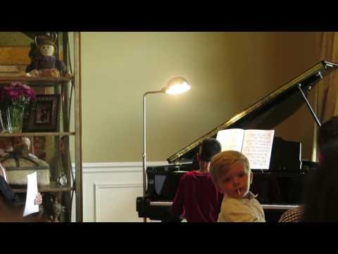 Varun Ganesh's rendition of Beethoven's Für Elise at Mr. Cooper's students' concert.