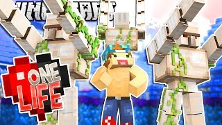 MY IRON GOLEM BODYGUARDS! | One Life SMP #17