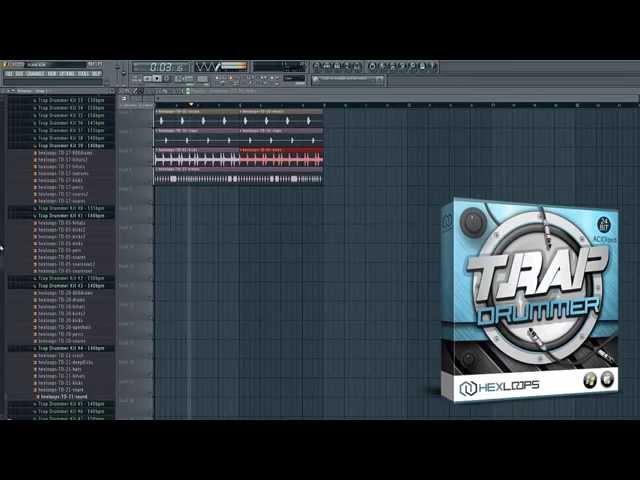 Trap Drummer Sample Pack by Hex Loops - FL Studio Demo